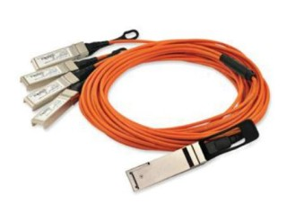 Quadwire 40G QSFP to 4x10G SFP+ Parallel Fan-Out Active Optical Cable
