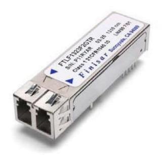 OC-3 SR-1/STM I-1 or OC-3 IR-1/STM S-1.1 2x5 SFF Optical Transceiver