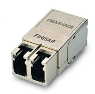 Compact Endurance® 125Mb/s to 10Gb/s 550m Optical Transceiver for Military and Industrial Applications